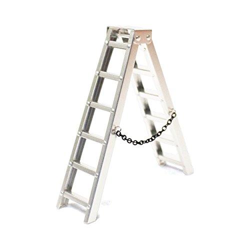 Racers Edge 1/10 Scaler Aluminum Step Ladder (100mm)