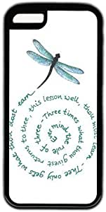 Dragonfly Quote Theme Iphone 5c Case