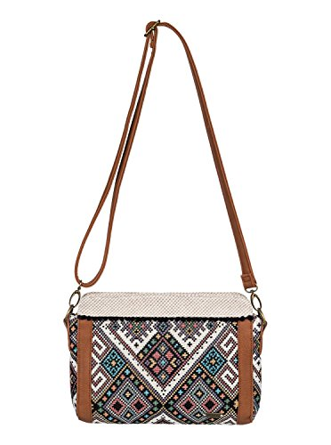 Roxy Folk Caramba Cross Body Handbag, Anthracite