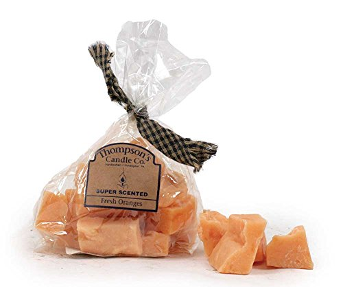 Thompson's Candle Co. 3 Ounce Bag of Scented Candle Crumbles - Fresh (Orange Chef Co)
