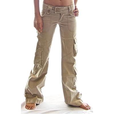 Himalayan Hipster Womens Cargo Pants 45062 - 100% Cotton Premium Quality Ladies Combat