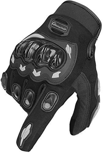 ARTOP Motorrad Handschuh Herren Damen Kinder Vollfinger Motorradhandschuhe Sommer Touchscreen Motorcross Handschuhe…