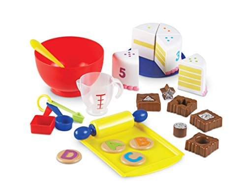 Learning Resources Bake & Learn Play Bakery Set