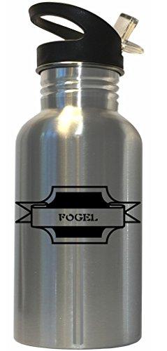 Fogel - Surname Stainless Steel Water Bottle Straw Top