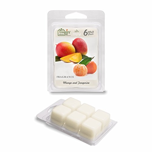 Country Jar Mango and Tangerine Soy Wax Melts/Tarts (2.75 oz. 6-Cube Pack) Spring Pick-3 Sale! See Details.