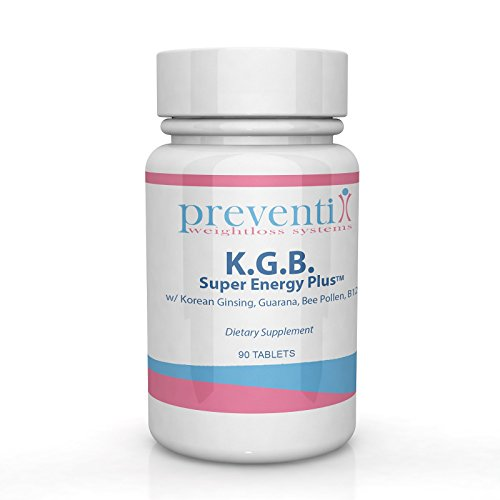 K.G.B. SUPER ENERGY PLUS with Korean Ginseng, Guarana Extract, and Bee Pollen