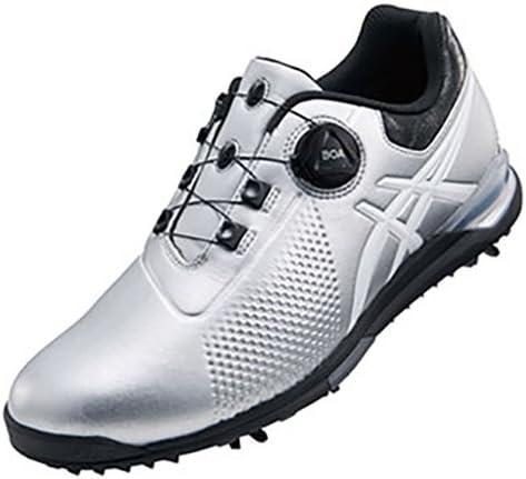 ゲルエース ツアー 3 ボア ゴルフシューズ メンズ TGN923 9301 シルバー/ホワイト 27.0cm