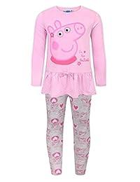 Peppa Pig Childrens Girls The Cutest T-Shirt Legging Set