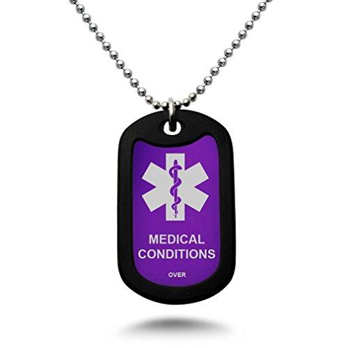 Engraved Medical Necklace - 3