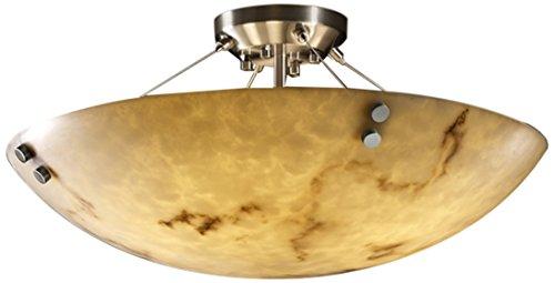 Justice Design Group Lighting FAL-9651-35-NCKL-F1-LED3-3000 LumenAria-Finials 21