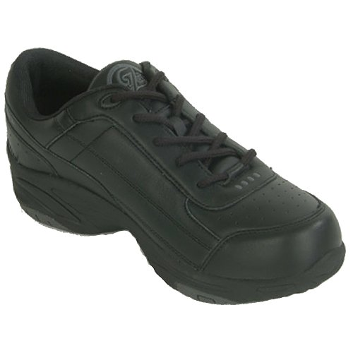 Dr Zen Sport 2 Womens Therapeutic Diabetic Extra Depth Shoe Leather Lace Black FCzHA