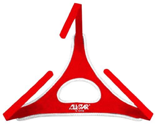 Red All-Star DeltaFlex Catcher's Mask Harness ()