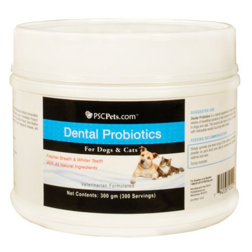 PSCPets Dental Probiotics for Cats and Dogs, 300gm, My Pet Supplies