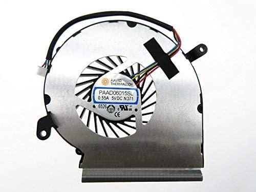 wangpeng Laptop Gpu Cooling Fan for MSI GE62VR GP62VR GP62MVR PAAD06015SL N371 4-Wire 4-Pin