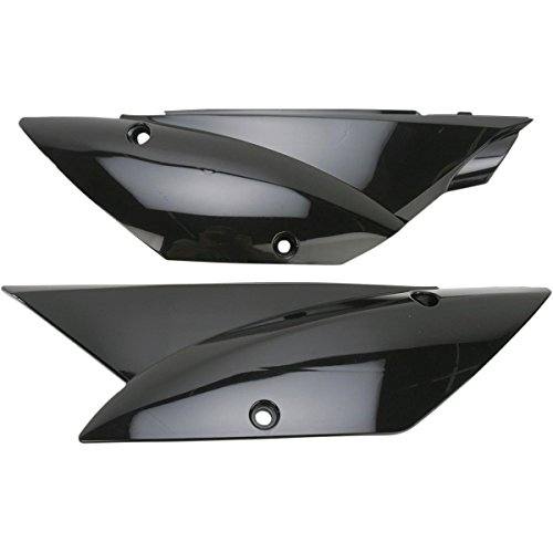 UFO Plastics Side Panel Black for Kawasaki KLX110 2010 by Ufo Plastic