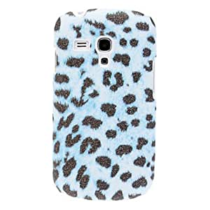 Bling Leopard Print Pattern Hard Case for Samsung Galaxy S3 Mini I8190 --- COLOR:Blue