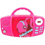 Barbie Fabulous Sing Along CD Player  - Pink