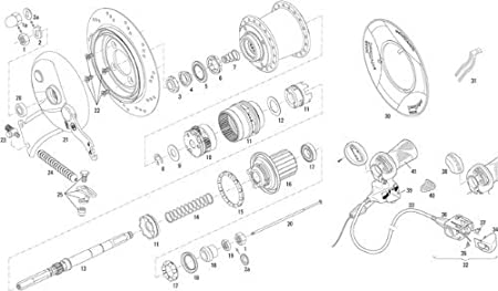 0.318.141//9 westphal handle for sram sachs t3 p5 s7 1 bike drive dcha