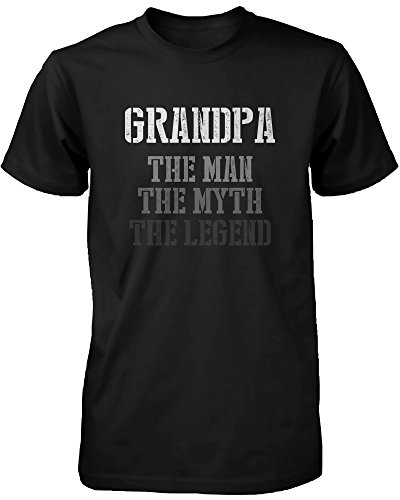The Man Myth Legend Cute Shirt for Grandpa Christmas Gift idea for Grandfather