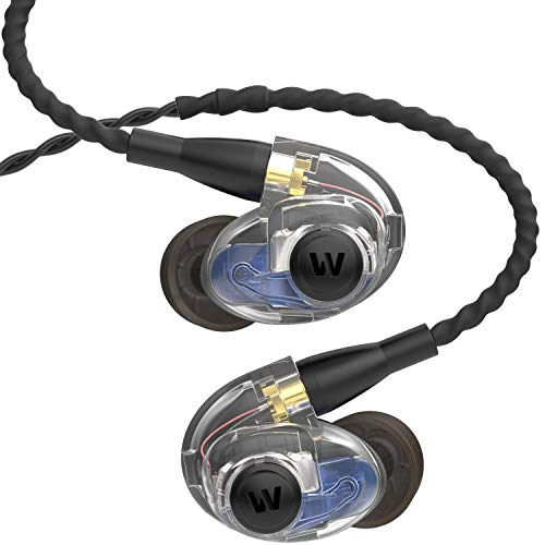 Westone AM Pro 20 Dual-Driver Universal-Fit In-Ear Musicians' Monitors with SLED Technology and Removable Twisted MMCX Audio Cable
