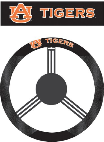 (Fremont Die NCAA Auburn Tigers Poly-Suede Steering Wheel Cover)