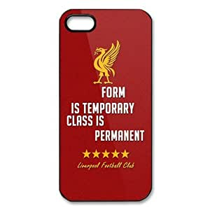 UEFA Champions League Liverpool Logo FC Image Snap On Hard Plastic Iphone 5 5S Case