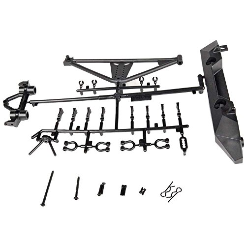 Axial AX80126 SCX10/Poison Spyder/JK Rear Bumper/Tire Carrier