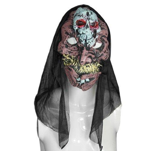 eDealMax Terribile Skull fronte Big Denti Maschera di Halloween suono for $<!--$7.91-->
