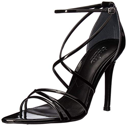 CHARLES BY CHARLES DAVID Women's Trickster Heeled Sandal, Black, 6 M US