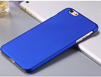 Coque iPhone 6 Plus Gomme Bleu: Amazon.fr: High-tech