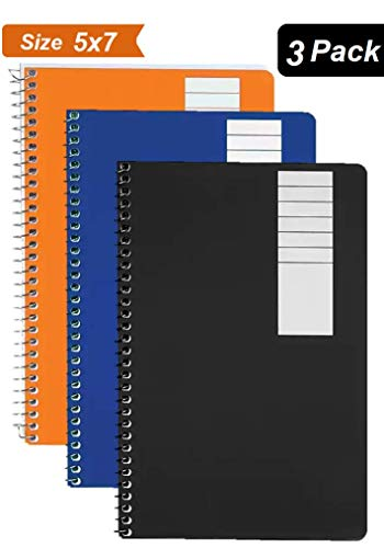 1InTheOffice 1-Subject Wirebound Notebook, College Ruled, 80 Sheets, 7 3/4