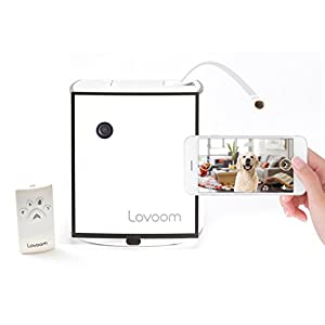 LOVOOM Pet Monitoring Camera: Kibble Tossing Play, Wi-Fi Camera with Pan Zoom Two Way Audio Remote Control for Dogs and Cats 49