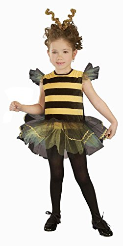 Forum Novelties Baby Girl's Bee Mine Toddler Costume, Yellow/Black