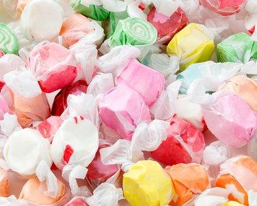 (Assorted Salt Water Taffy Candy, 3 pound bag)