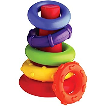 Playgro Sort and Stack Tower for baby infant toddler child 4011455, Playgro is Encouraging Imagination with STEM/STEM for a bright future - Great start for a world of learning