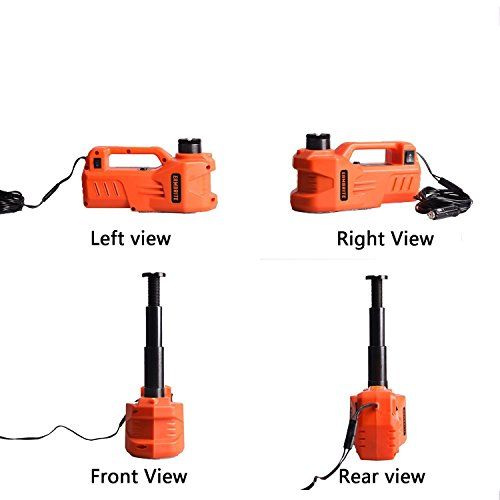 Eambrite 12v Dc Electric Hydraulic Car Floor Jack With Led