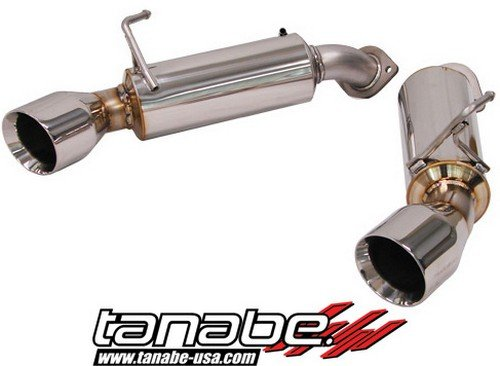 - Tanabe T70132A Medalion Touring Axle-Back Dual Muffler Exhaust System for Infiniti G37 Coupe 2008-2009