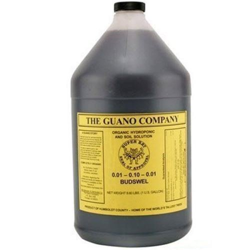 Budswel Liquid 1 Gallon gal 1G Bat Guano nutrient supplement organic fertilizer