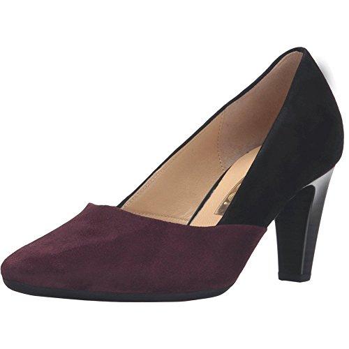Gabor 55.150 Mujer Bombas Zapatos Blk Mer