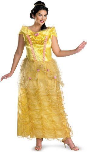 Belle Deluxe Adult Costume - XX-Large