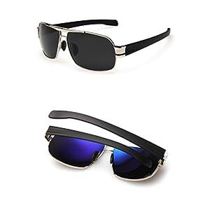 Toping Fine Inner Coating Driving Sunglasses Men Square Sun glasses For Men Occhiali Da Sole Oculos Gafas De Sol,1,50Centimeters