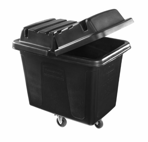 Rubbermaid Commercial Executive Series MDPE Cube Truck, 102.9-Gallon (1867537) ()