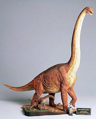 Tamiya Models - 1/35 Brachiosaurus Dinosaur Diorama Set