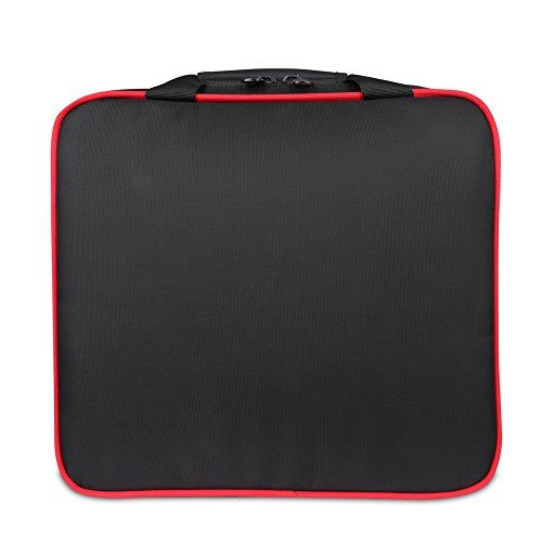 BUBM PS4 Storage Bag/Travel Gadget Carry Case for PlayStation 4 Game Console and Accessories, High Capacity and Lightweight, Fits for PS4, PS4 Slim, Xbox One S, Black