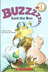 Buzz Said the Bee, Grade 1 (Hello Reader) Paperback