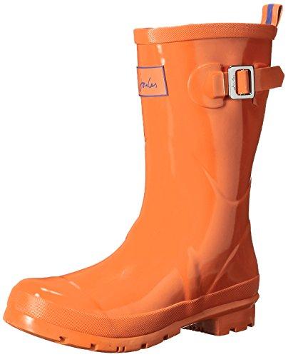 Joules Mujeres Kelly Welly Gloss Rain Bota Orange