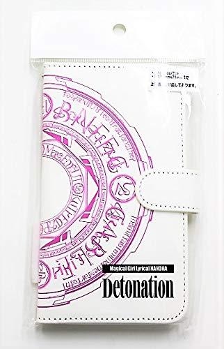 映画 魔法少女リリカルなのは Detonation 手帳型スマホカバー ミッド・ピンク iPhone6s iPhone7 iPhone8 約138㎜×71㎜ スマホケース