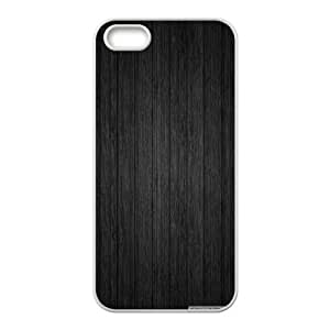 Black Wood IPhone 5,5S Cases, Iphone 5s Cases for Girls Cheap Cool Okaycosama - White