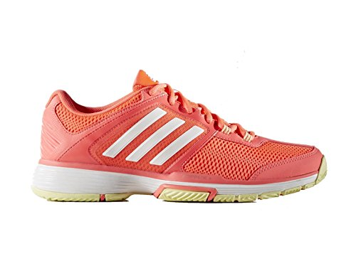 adidas Damen Barricade Club W Tennisschuhe Rojo (Rojdes / Ftwbla / Amahie)