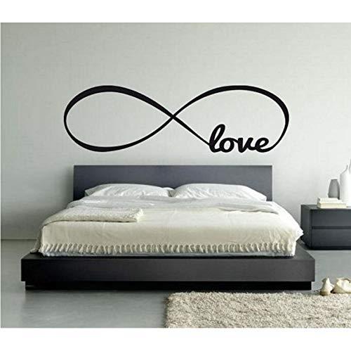 Gran símbolo de infinito dormitorio tatuajes de pared de amor ...